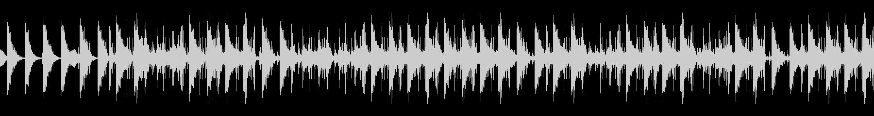 金物系ディレイのパーカスアンサンブルの未再生の波形