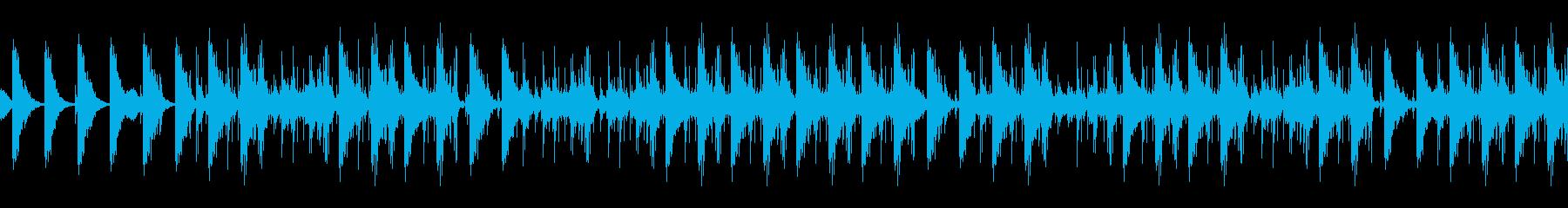 金物系ディレイのパーカスアンサンブルの再生済みの波形