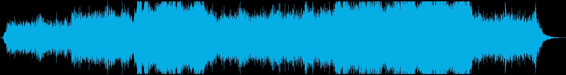感動的な映画系エピックピアノオーケストラの再生済みの波形