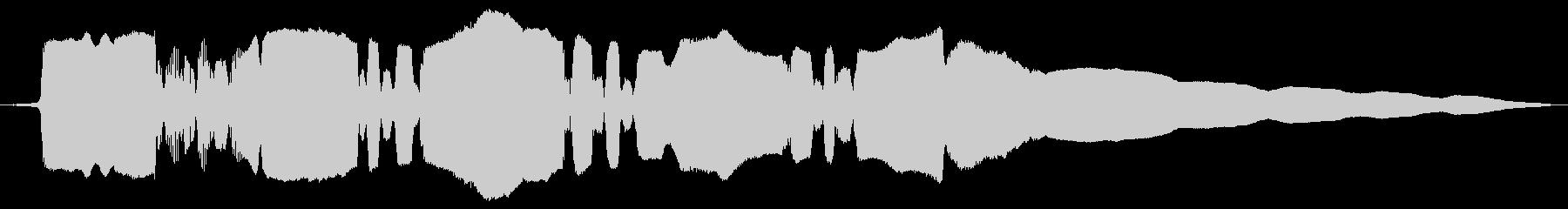 生サックスの面白いフレーズの未再生の波形