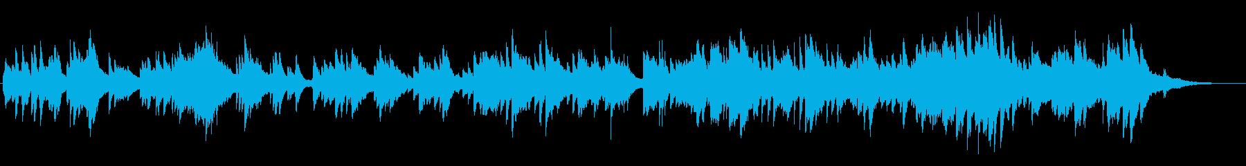 劇伴・恋愛・ドラマ 切ないピアノソロの再生済みの波形