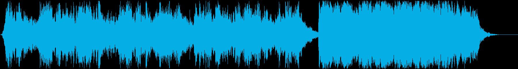リラックス 水 波 清潔感 ピアノ 光の再生済みの波形