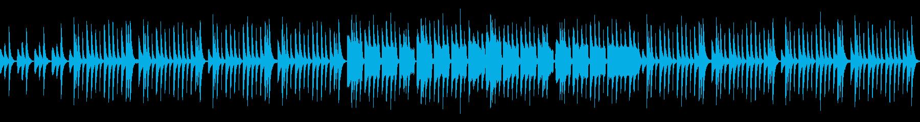 【リズム抜き】かわいい木琴_ループ可の再生済みの波形