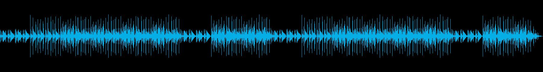 カフェっぽいイメージのポップな曲です。の再生済みの波形