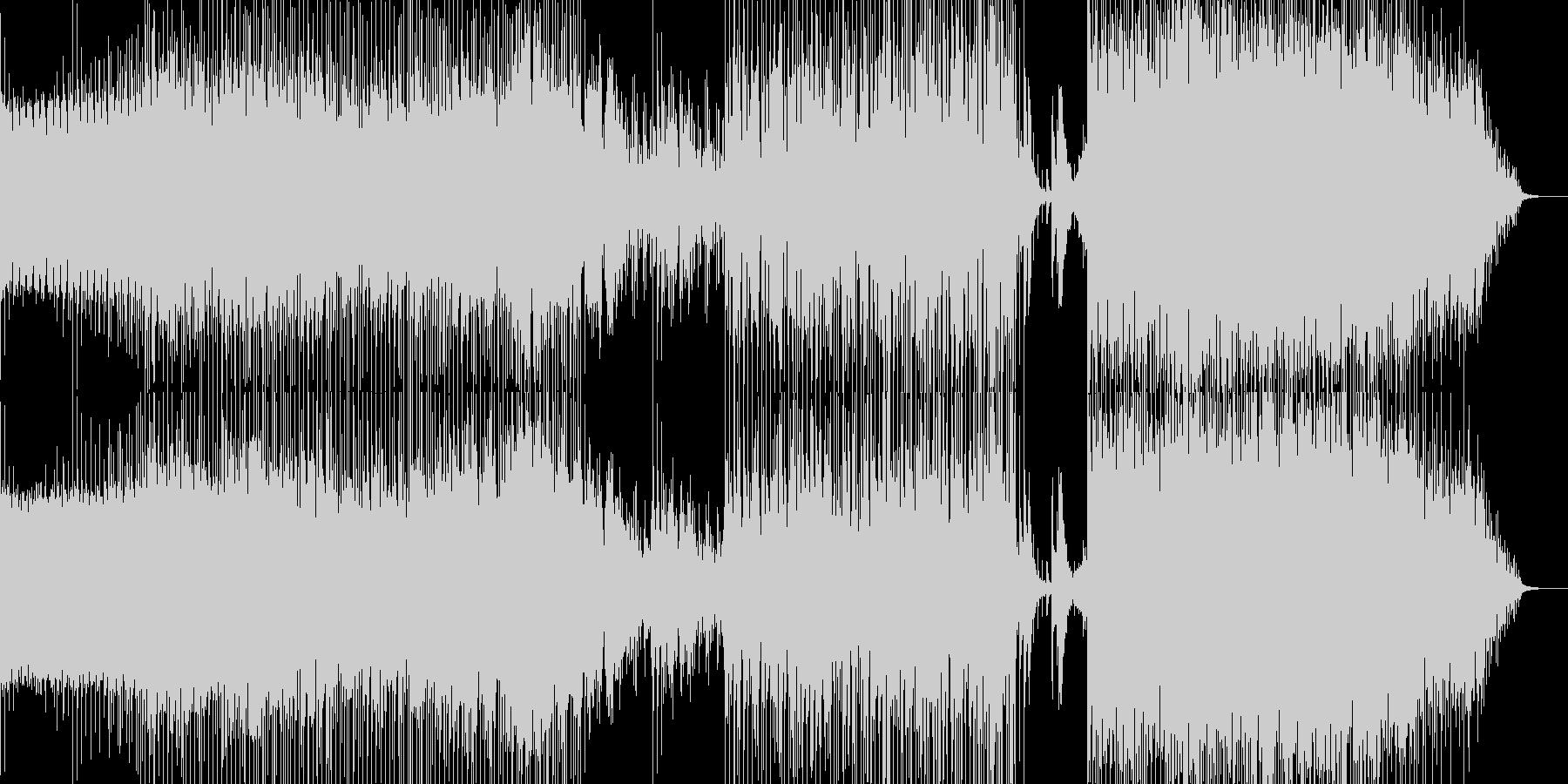 Diverの未再生の波形