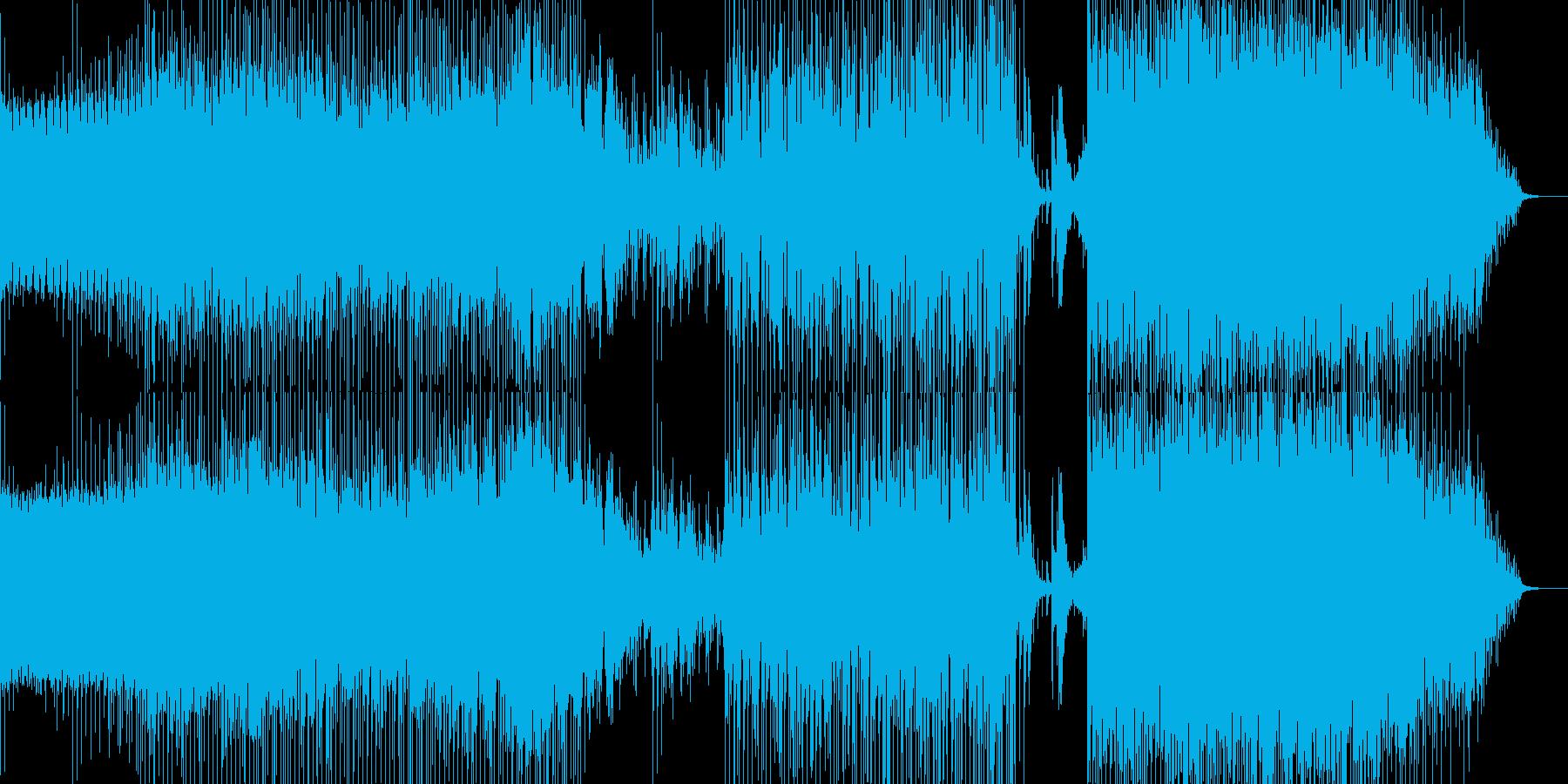 Diverの再生済みの波形