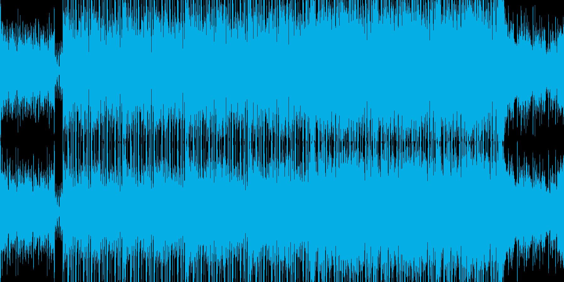 爽やかな格好良さの高速ポップ■ループ可の再生済みの波形