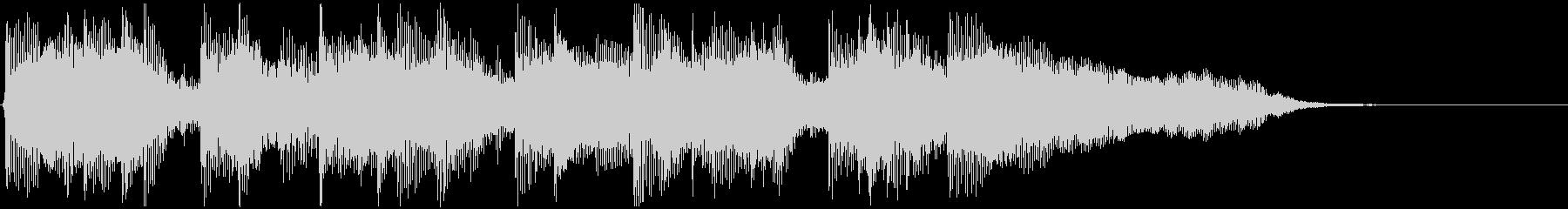 バイオリンメロのジングルの未再生の波形