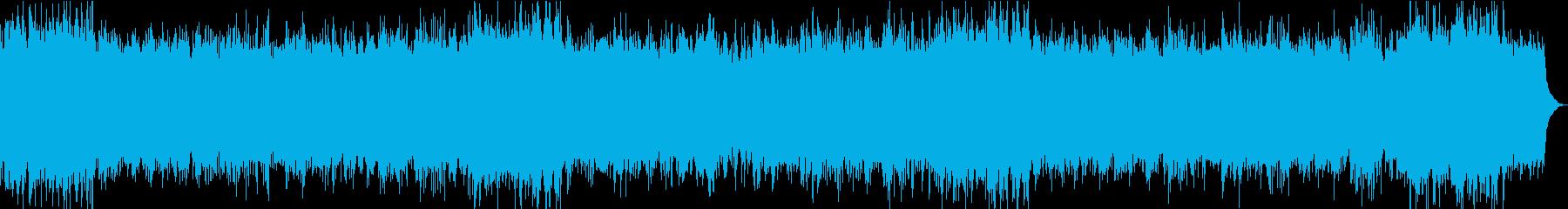 おだやかキラキラ/静かめ/イントロ17秒の再生済みの波形