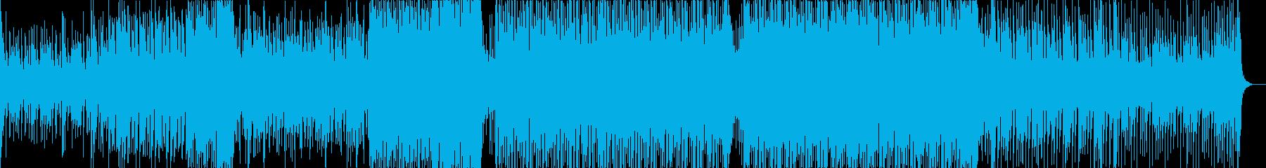 爽やかなプログレッシブハウスの再生済みの波形