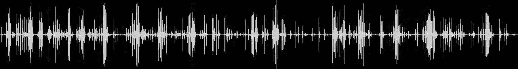 家庭 カップガラガラハード01の未再生の波形