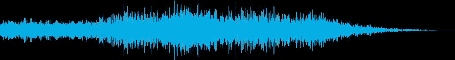 メネシングトーンドローンの再生済みの波形