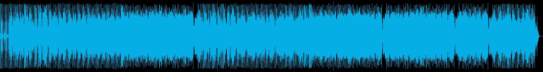 琴が印象的な英語のオリエンタルポップスの再生済みの波形