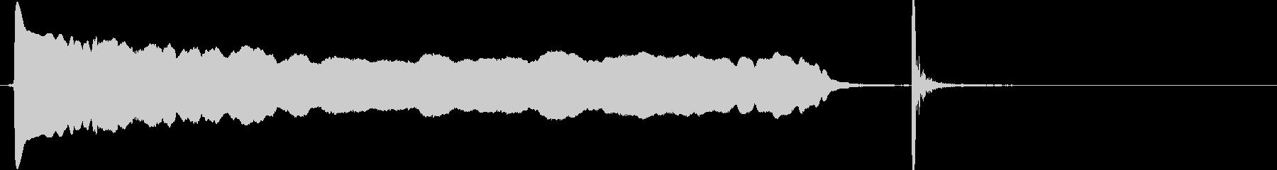 ヒュ〜ポン下降 落下 #3 生演奏の未再生の波形