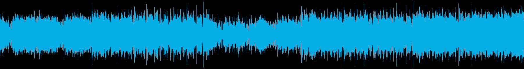 ループ・おしゃれでかわいいR&Bの再生済みの波形