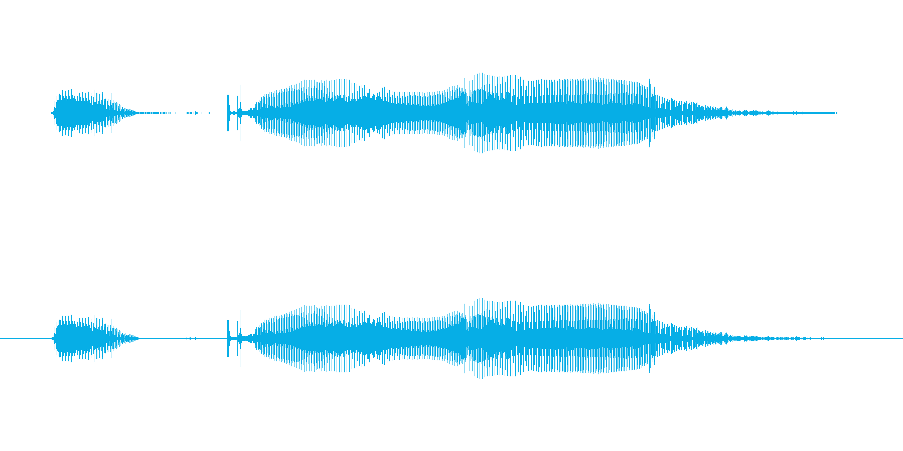 「OK-La」子供(シングリッシュ)の再生済みの波形