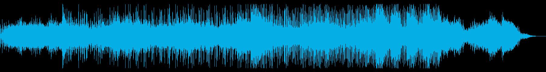 アンビエントなIDMドローンの再生済みの波形