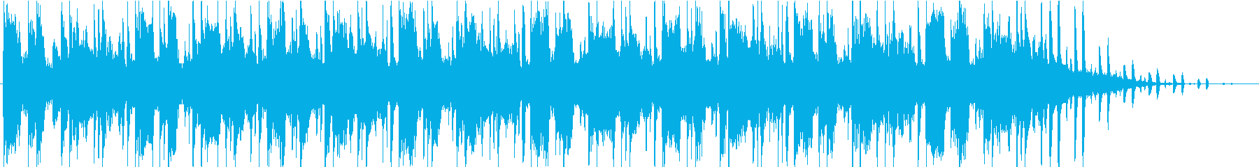 シーケンス 未定ベース01の再生済みの波形