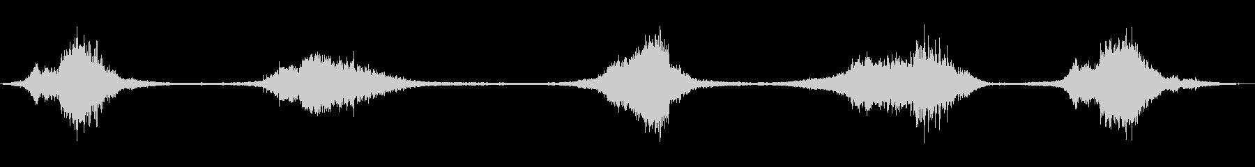ローラーコースターバイスアンドステディ1の未再生の波形