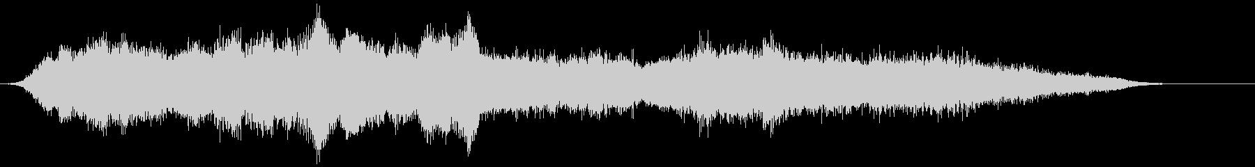 音楽:不気味なホラーパイプオルガン...の未再生の波形