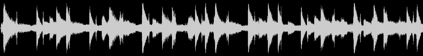 作業中に聴きたいLofi-hiphopの未再生の波形