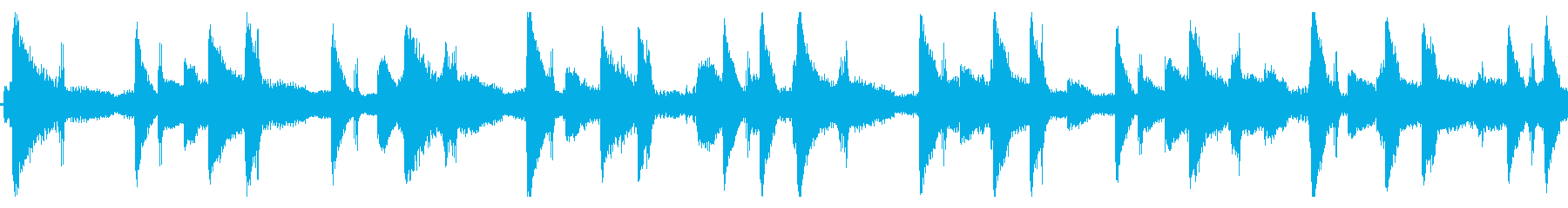 作業中に聴きたいLofi-hiphopの再生済みの波形