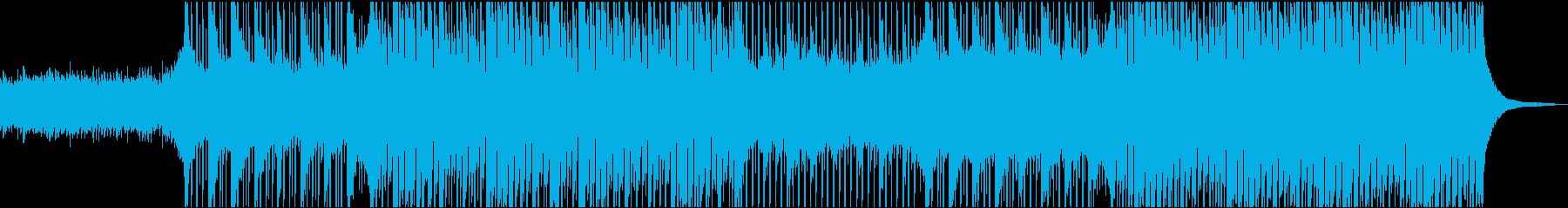 Acoustic Upbeat Folkの再生済みの波形