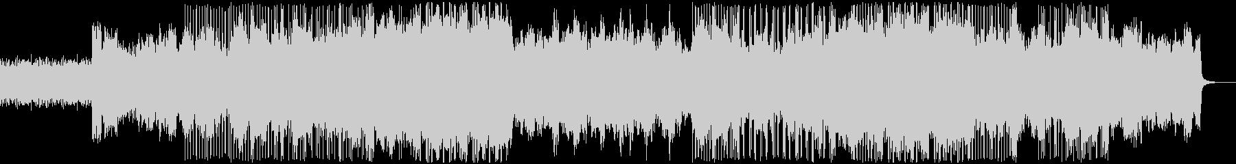 シンセ アルペジオが特徴の未再生の波形