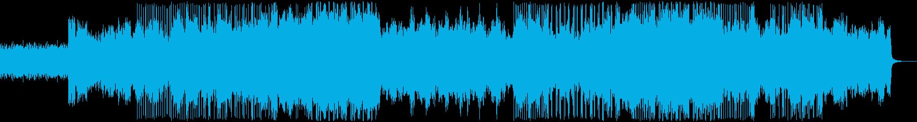 シンセ アルペジオが特徴の再生済みの波形