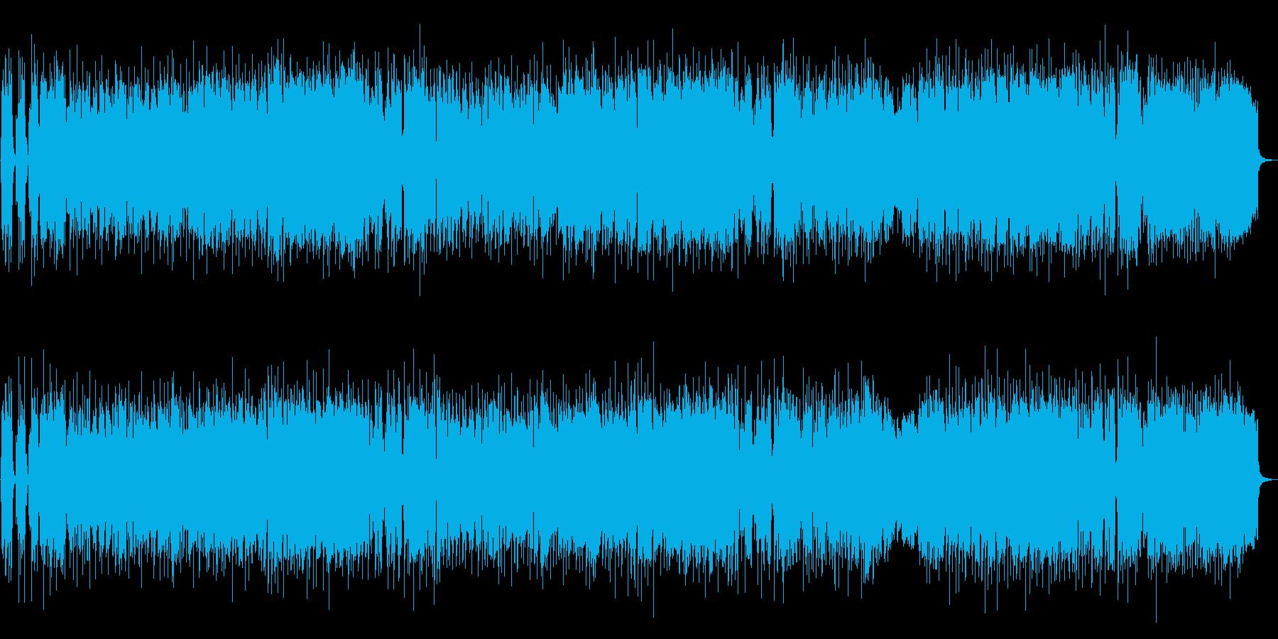生トランペットのイージーリスニングポップの再生済みの波形