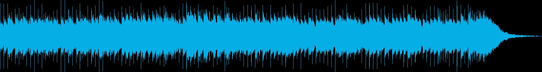 可愛くてシンプルなオルゴールの曲の再生済みの波形