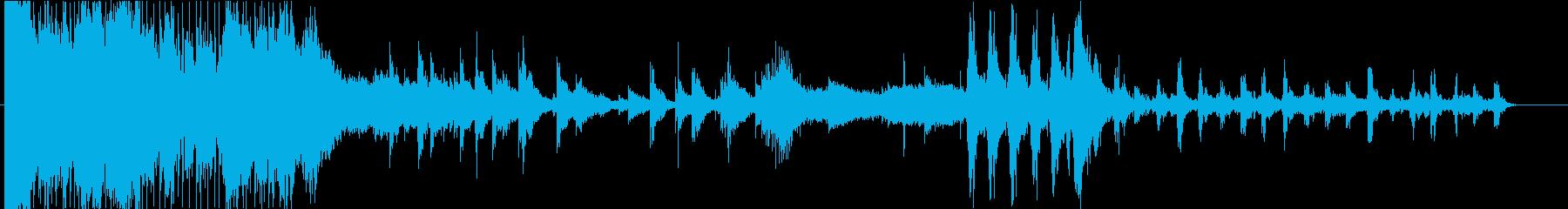 勢いと静寂が交差するアンビエントホラーの再生済みの波形