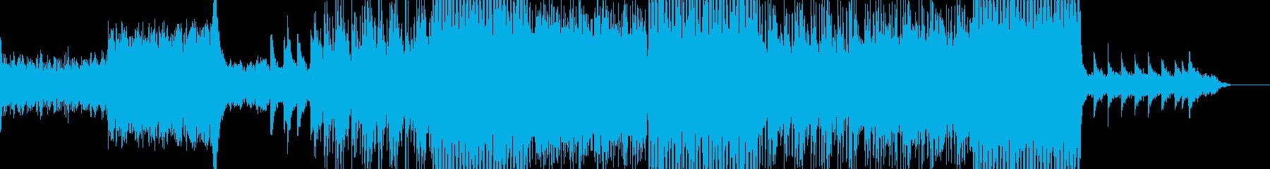 ワールドミュージック+ダンスミュージックの再生済みの波形