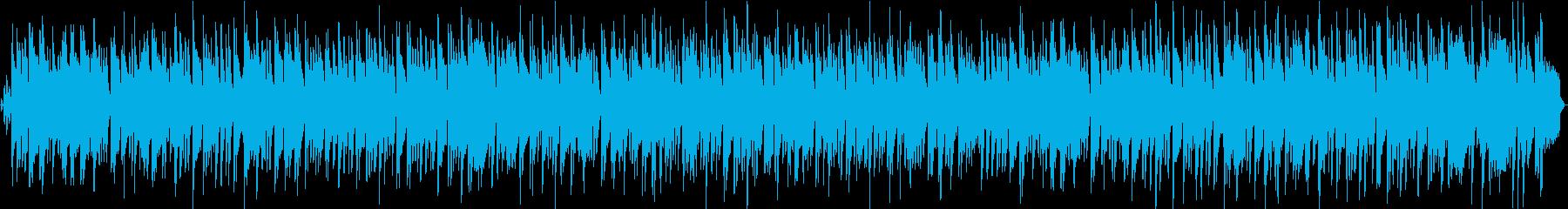 いろいろな動画に使えるゆったりボサノヴァの再生済みの波形