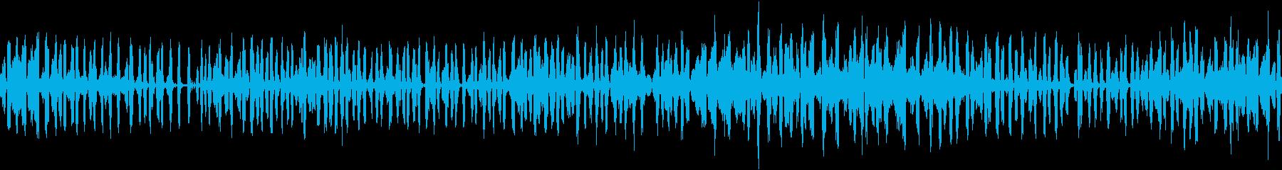 【環境音】カエル、春の里山の再生済みの波形