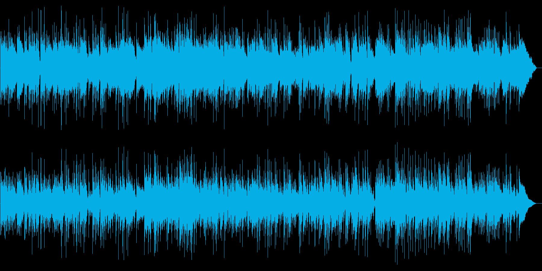 アコギがメインのほのぼのとした作品の再生済みの波形