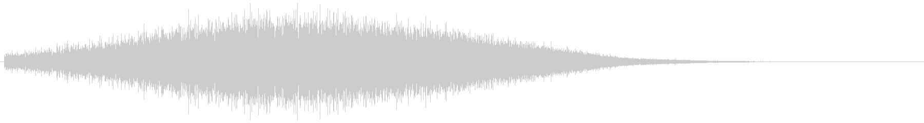 ノイズフィルター 上昇(インパクト音)の未再生の波形