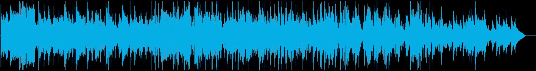 ドリームポップ風味なサックスとピアノの再生済みの波形