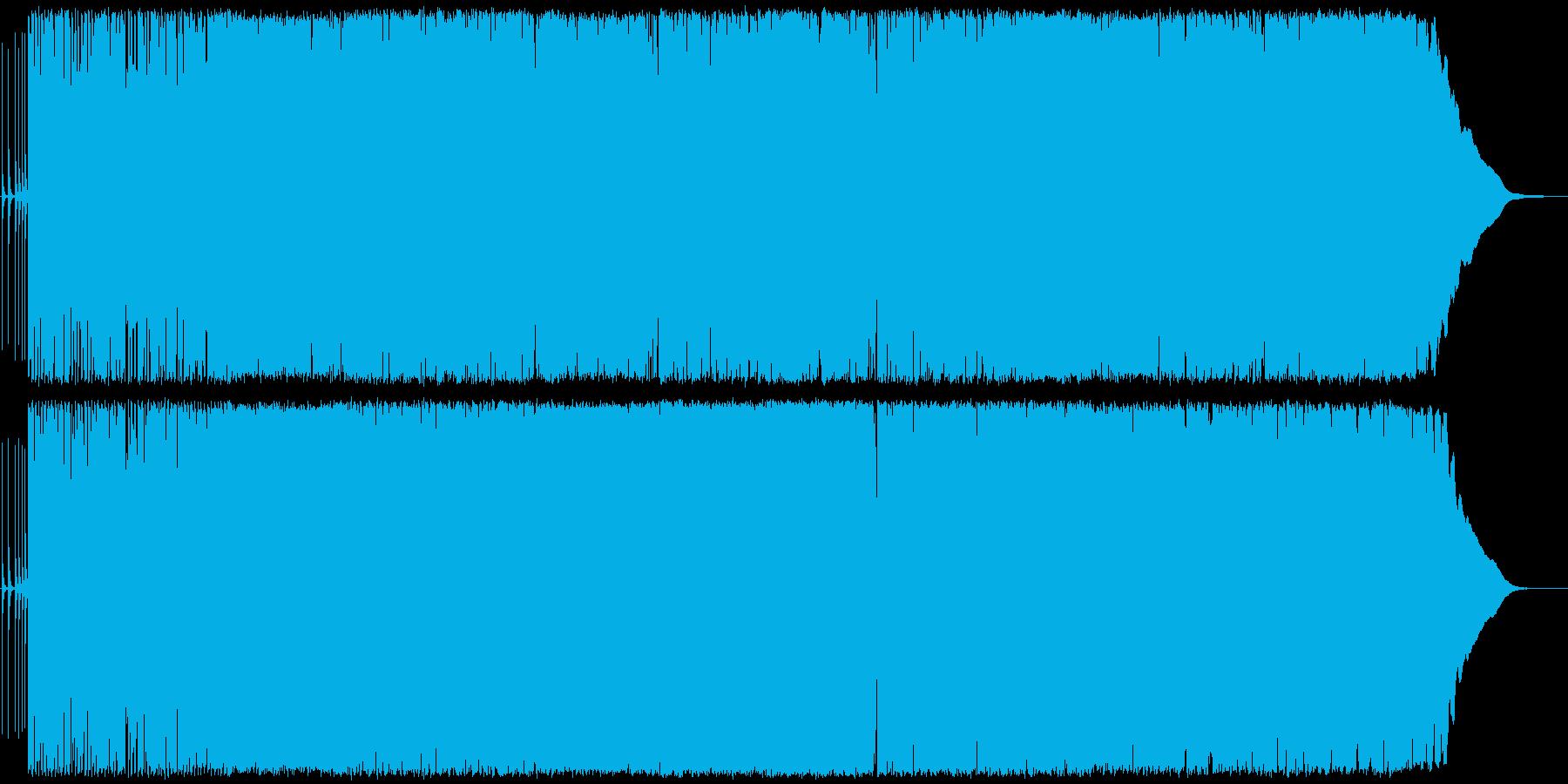 軽快なテンポのロックンロール・ポップの再生済みの波形