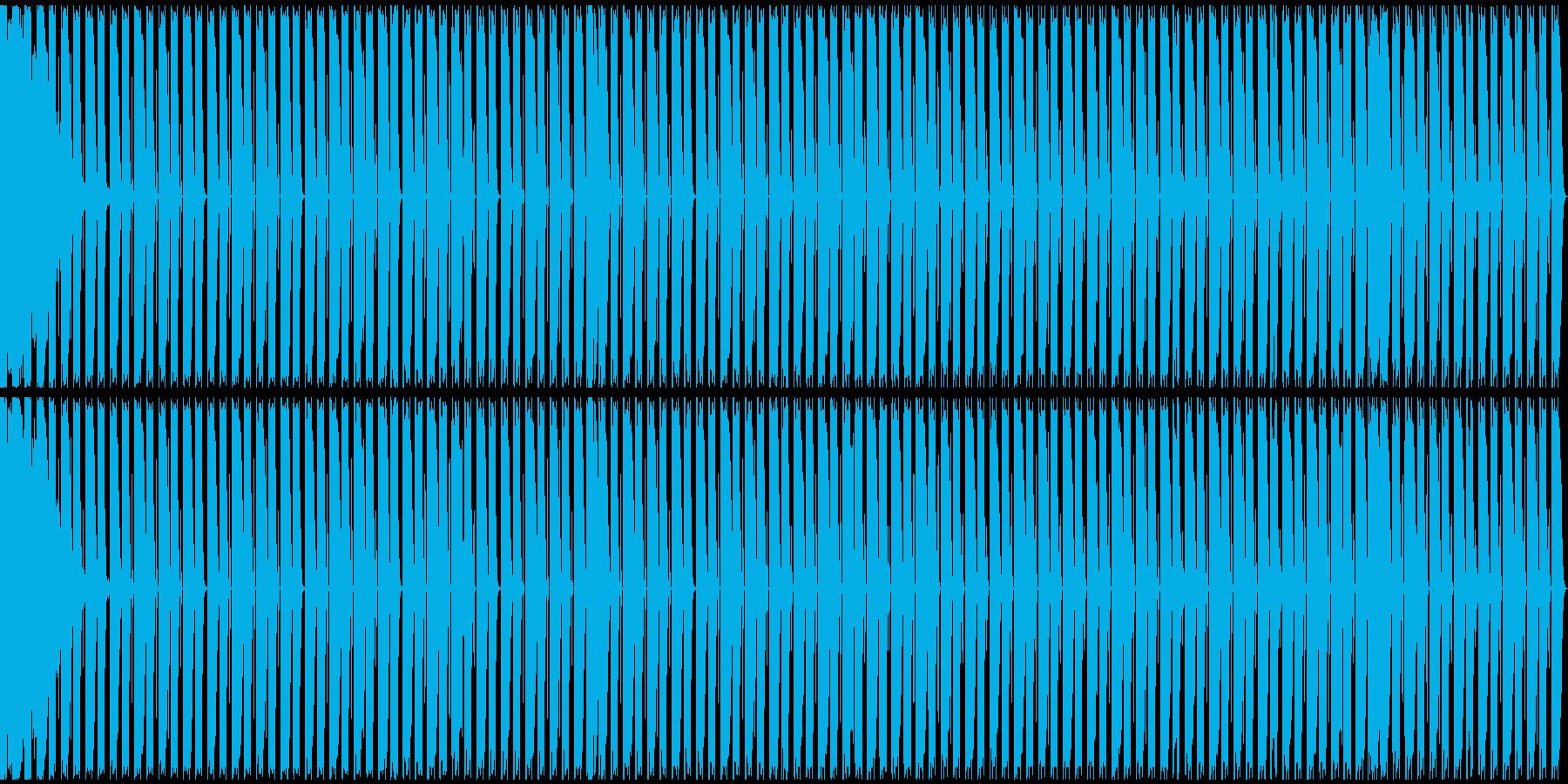 【エレクトロニカ】テクノ、ロング2の再生済みの波形