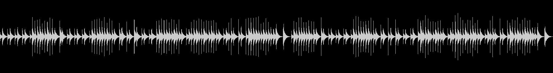 (オルゴール)ジムノペディ1番BPM84の未再生の波形