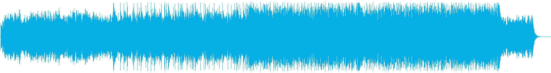Gorgeous and sparkling synthesizer songs's reproduced waveform