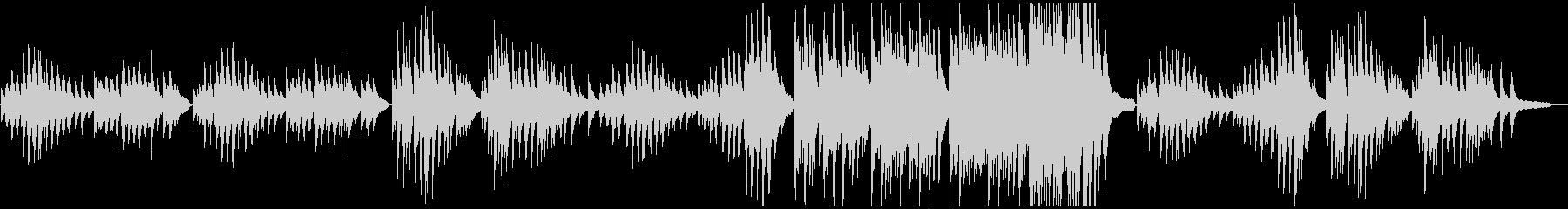 日常の表現に適した有名ピアノソロ曲の未再生の波形