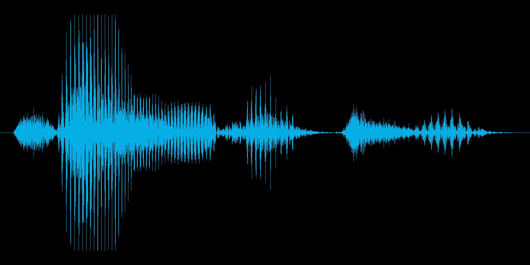3月の再生済みの波形
