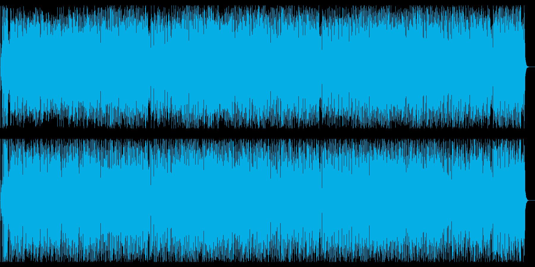 軽快 オープニング イベント 元気の再生済みの波形