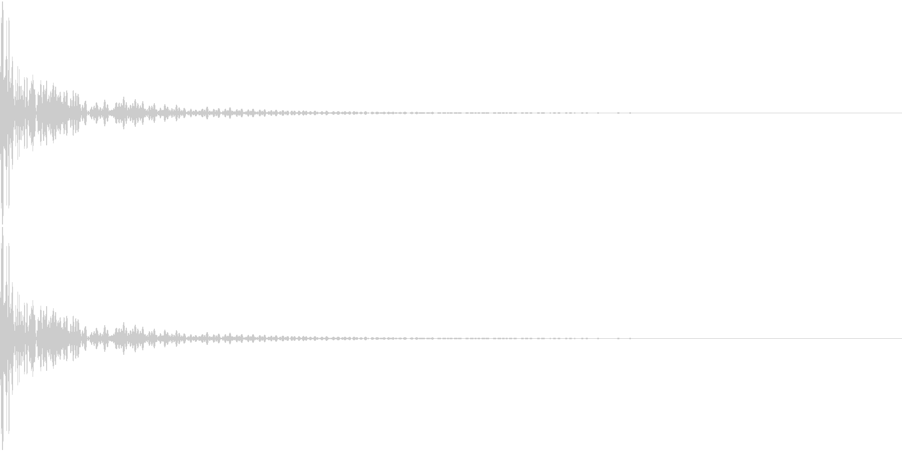 DTM Tom 15 オリジナル音源の未再生の波形