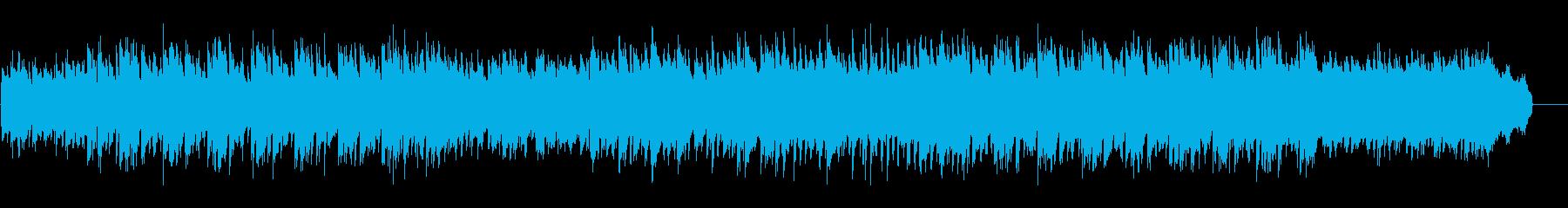 【パーカス抜】お気楽なカントリージャズの再生済みの波形