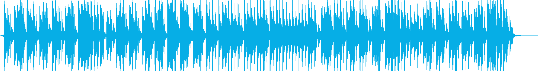 ピコピコ可愛い日常BGMの再生済みの波形