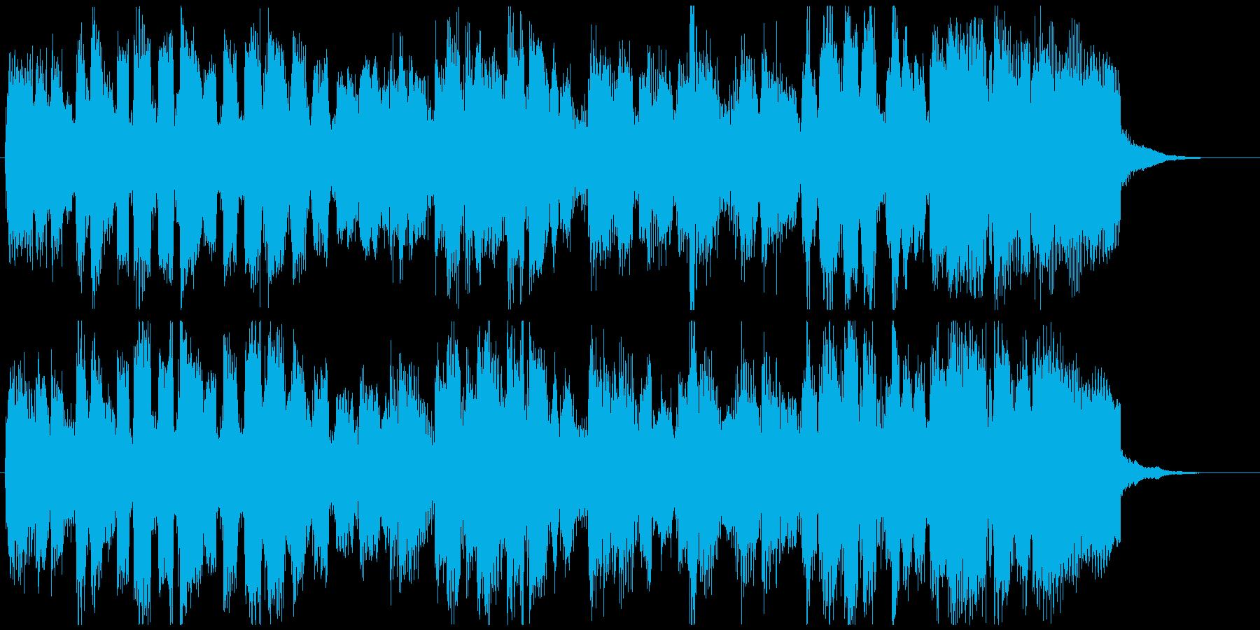 柔らかい高音サックスジャズ15秒ジングルの再生済みの波形