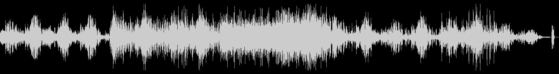 ディープでデジタルなシネマティックBGMの未再生の波形